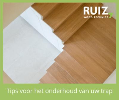 tips voor het onderhoud van uw houten trap