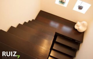 houten design trap