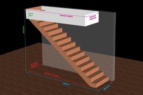 houten trappen bouwpakket Belgie