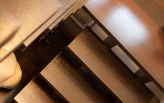 Mono stringer in wenge hout