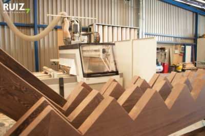houten wangen wangen uit de CNC